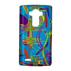 Colorful abstract pattern LG G4 Hardshell Case by Valentinaart