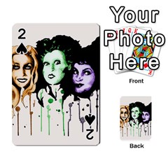 The Sanderson Sisters  Playing Cards 54 Designs  by lvbart