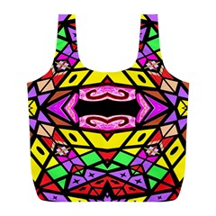 Monkey Best One Mirroir (5)hyh Full Print Recycle Bags (l)  by MRTACPANS