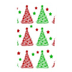 Decorative Christmas Trees Pattern   White Memory Card Reader by Valentinaart