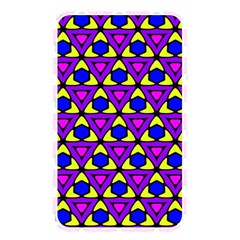 Triangles And Honeycombs Pattern                                                                                                   memory Card Reader (rectangular) by LalyLauraFLM