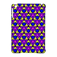 Triangles And Honeycombs Pattern                                                                                                  apple Ipad Mini Hardshell Case (compatible With Smart Cover) by LalyLauraFLM