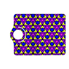 Triangles And Honeycombs Pattern                                                                                                  kindle Fire Hd (2013) Flip 360 Case by LalyLauraFLM