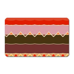 Waves And Other Shapes                                                                                                    magnet (rectangular) by LalyLauraFLM