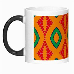 Rhombus And Other Shapes Pattern                                                                                                     Morph Mug by LalyLauraFLM