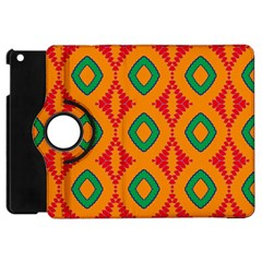Rhombus And Other Shapes Pattern                                                                                                    			apple Ipad Mini Flip 360 Case by LalyLauraFLM