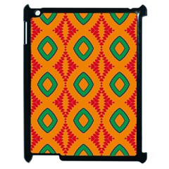 Rhombus And Other Shapes Pattern                                                                                                    			apple Ipad 2 Case (black) by LalyLauraFLM