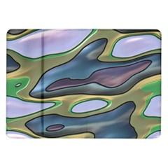 3d Shapes                                                                                                     samsung Galaxy Tab 10 1  P7500 Flip Case by LalyLauraFLM