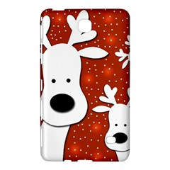 Christmas Reindeer   Red 2 Samsung Galaxy Tab 4 (8 ) Hardshell Case  by Valentinaart