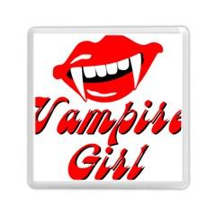 Vampire Girl Memory Card Reader (square)  by igorsin