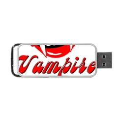 Vampire Girl Portable Usb Flash (two Sides) by igorsin