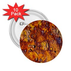 Rusted metal surface 2.25  Buttons (10 pack)  by igorsin