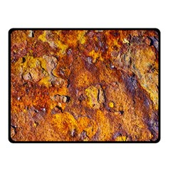 Rusted Metal Surface Fleece Blanket (small) by igorsin