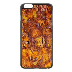 Rusted Metal Surface Apple Iphone 6 Plus/6s Plus Black Enamel Case by igorsin