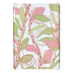 Pink And Ocher Ivy 2 Apple Ipad Mini Hardshell Case by Valentinaart