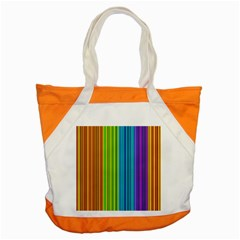Colorful lines Accent Tote Bag