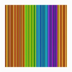 Colorful Lines Medium Glasses Cloth (2 Side) by Valentinaart