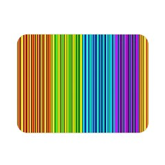 Colorful Lines Double Sided Flano Blanket (mini)  by Valentinaart