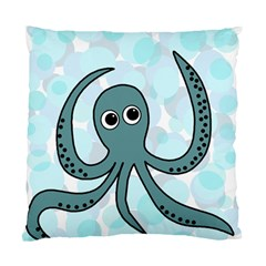 Octopus Standard Cushion Case (two Sides) by Valentinaart