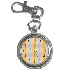 Blue Yellow Summer Pattern Key Chain Watches
