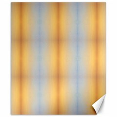 Blue Yellow Summer Pattern Canvas 8  X 10  by Costasonlineshop