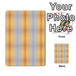 Blue Yellow Summer Pattern Multi-purpose Cards (Rectangle)  Back 52