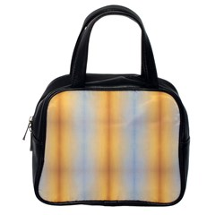 Blue Yellow Summer Pattern Classic Handbags (one Side)