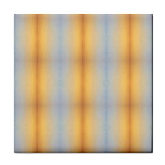 Blue Yellow Summer Pattern Face Towel