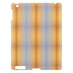 Blue Yellow Summer Pattern Apple Ipad 3/4 Hardshell Case by Costasonlineshop