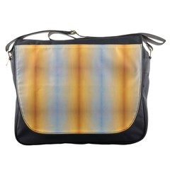 Blue Yellow Summer Pattern Messenger Bags