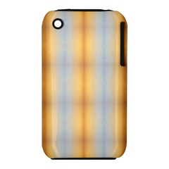 Blue Yellow Summer Pattern Apple Iphone 3g/3gs Hardshell Case (pc+silicone)