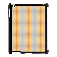 Blue Yellow Summer Pattern Apple Ipad 3/4 Case (black) by Costasonlineshop