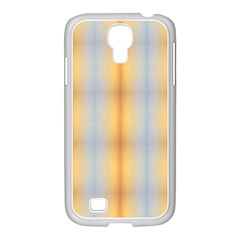 Blue Yellow Summer Pattern Samsung Galaxy S4 I9500/ I9505 Case (white) by Costasonlineshop