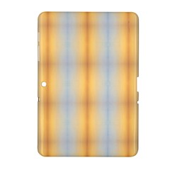 Blue Yellow Summer Pattern Samsung Galaxy Tab 2 (10 1 ) P5100 Hardshell Case  by Costasonlineshop