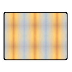 Blue Yellow Summer Pattern Double Sided Fleece Blanket (small)  by Costasonlineshop