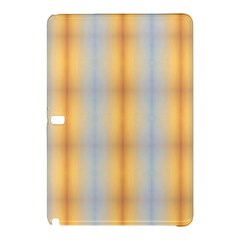 Blue Yellow Summer Pattern Samsung Galaxy Tab Pro 10 1 Hardshell Case by Costasonlineshop