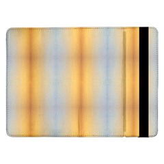 Blue Yellow Summer Pattern Samsung Galaxy Tab Pro 12 2  Flip Case by Costasonlineshop