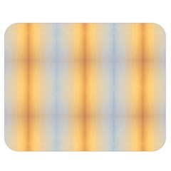 Blue Yellow Summer Pattern Double Sided Flano Blanket (medium)