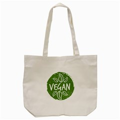 Vegan Label3 Scuro Tote Bag (cream) by CitronellaDesign