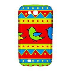 Birds pattern Samsung Galaxy Grand GT-I9128 Hardshell Case  by Valentinaart