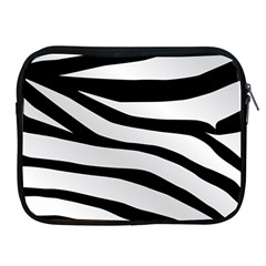 White Tiger Skin Apple iPad 2/3/4 Zipper Cases by Zeze