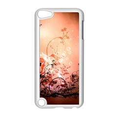 Wonderful Flowers In Soft Colors With Bubbles Apple iPod Touch 5 Case (White) by FantasyWorld7