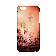 Wonderful Flowers In Soft Colors With Bubbles Apple Iphone 6/6s Hardshell Case by FantasyWorld7