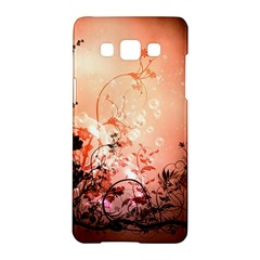Wonderful Flowers In Soft Colors With Bubbles Samsung Galaxy A5 Hardshell Case  by FantasyWorld7