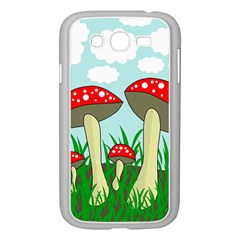 Mushrooms  Samsung Galaxy Grand Duos I9082 Case (white) by Valentinaart