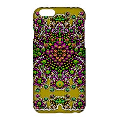 Fantasy Flower Peacock With Some Soul In Popart Apple Iphone 6 Plus/6s Plus Hardshell Case by pepitasart