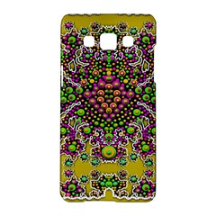 Fantasy Flower Peacock With Some Soul In Popart Samsung Galaxy A5 Hardshell Case  by pepitasart