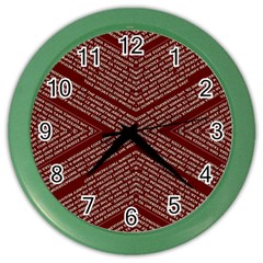 Gggfgdfgn Color Wall Clocks by MRTACPANS