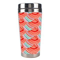 Element Of The Flower Of Life   Pattern Stainless Steel Travel Tumblers by Contest2489503