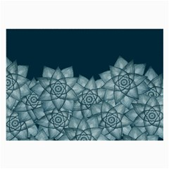 Flower Star Large Glasses Cloth (2 Side) by Contest2489503